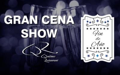 Gran Cena Show Fin de Año